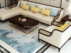 新中式沙发组合R-1119