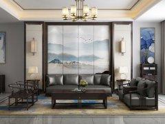 新中式沙发组合R-1121