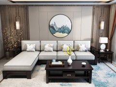 新中式沙发组合R-1127