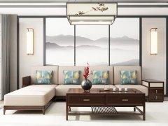 新中式沙发组合R-1124