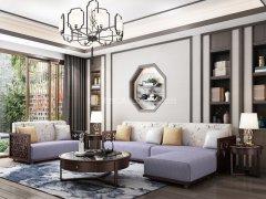 新中式沙发组合R-1128