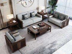 新中式沙发组合R-1130