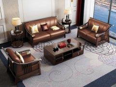 新中式沙发组合R-1131