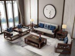 新中式沙发组合R-1134