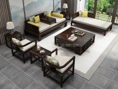新中式沙发组合R-1135