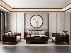 新中式沙发组合R-1136