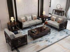 新中式沙发组合R-1140