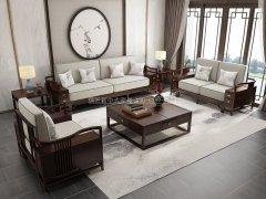 新中式沙发组合R-1138