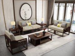 新中式沙发组合R-1139