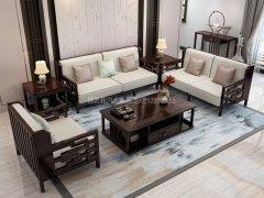 新中式沙发组合R-1141