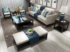 新中式沙发组合R-1143