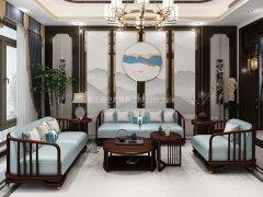 新中式沙发组合R-1147