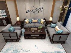 新中式沙发组合R-1149