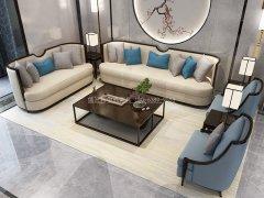 新中式沙发组合R-1150
