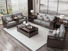 新中式沙发组合R-1153