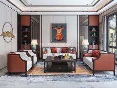 新中式沙发组合R-1160