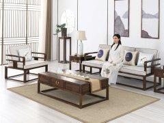 新中式沙发组合R-1165
