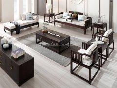 新中式沙发组合R-1166