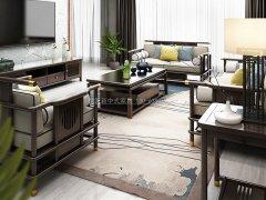 新中式沙发组合R-1175