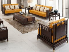 新中式沙发组合R-1173