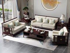 新中式沙发组合R-1176