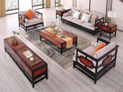 新中式沙发组合R-1183