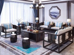 新中式沙发组合R-1185