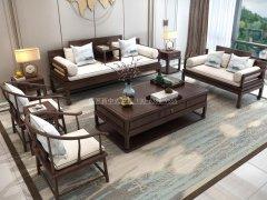 新中式沙发组合R-1189