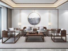 新中式沙发组合R-1196