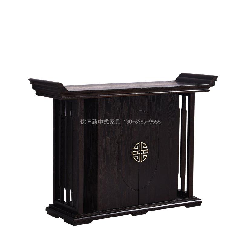 新中式玄光柜