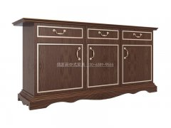 新中式鞋柜R-1409
