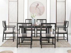 新中式餐桌椅R-1428