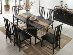新中式餐桌椅R-1442
