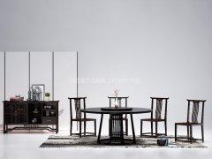 新中式餐桌椅R-1443
