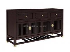 新中式餐边柜R-1484