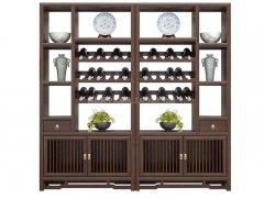 新中式酒柜R-1519