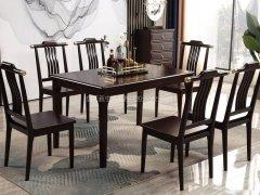 新中式餐桌椅R-1588