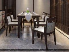 新中式餐桌椅R-1590