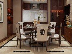 新中式餐桌椅R-1592