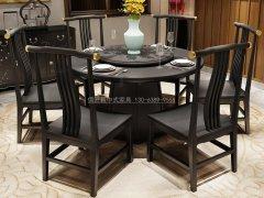 新中式餐桌椅R-1596