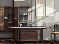 新中式茶室家具R-1636