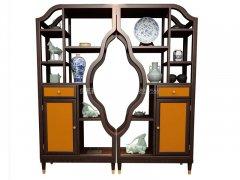 新中式书架R-1853