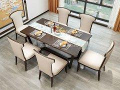 新中式餐桌椅RJ-BL-1864