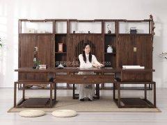 新中式书房家具R-1748