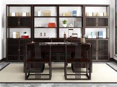 新中式书房家具R-1756