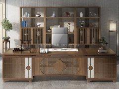 新中式书房家具R-1762