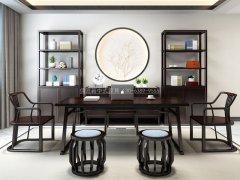 新中式书房家具R-1771