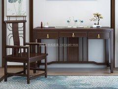 新中式书房家具RJ-BL-1776