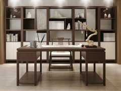 新中式书房家具RJ-BL-1777
