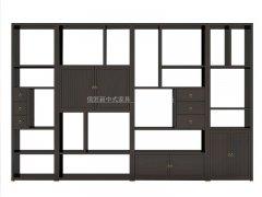新中式书架R-1812